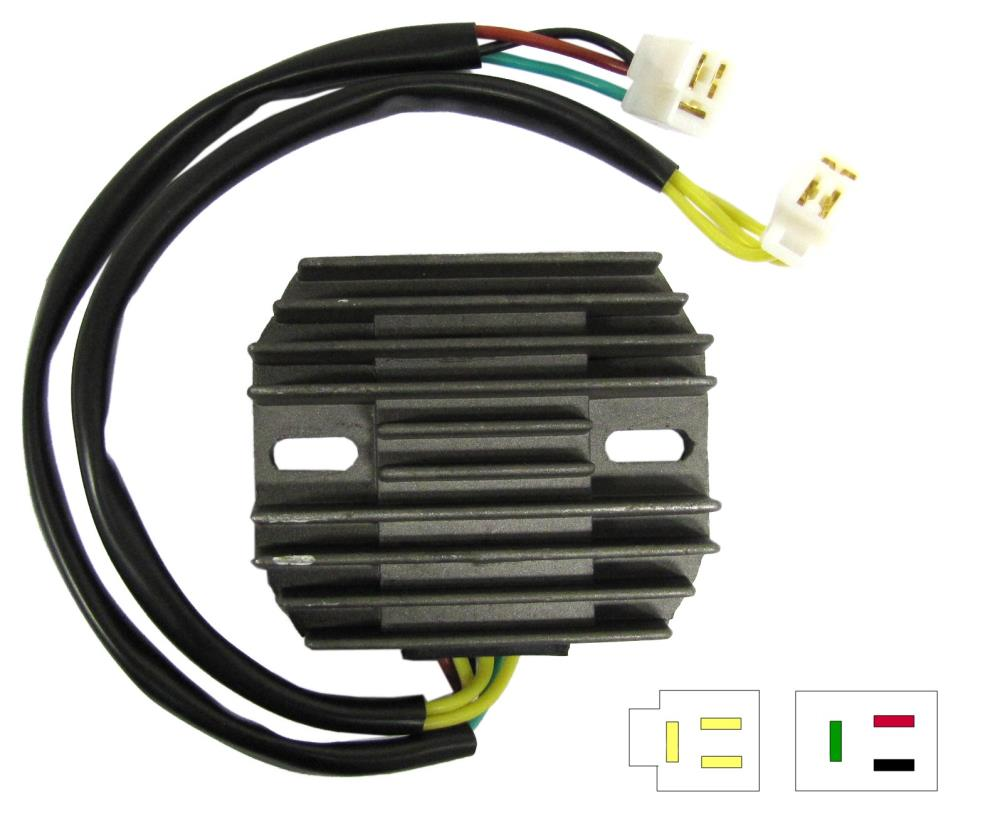Honda Regulator Rectifier Wiring Electrical Diagrams 750 Regulater Diagram Cb Rectefior Motorcycle Solutions Cb250n Cb400n 6 Generator