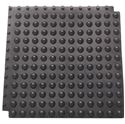 Picture of Floor Bubblemat 30cm x 30cm Black makes the floor non-slip